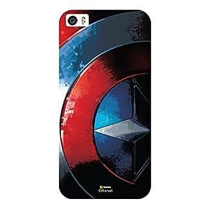 Hamee Marvel Civil War Captain America Iron Man Licensed Hard Back Case Cover For iPhone 6 Plus / 6s Plus Cover - Design 3