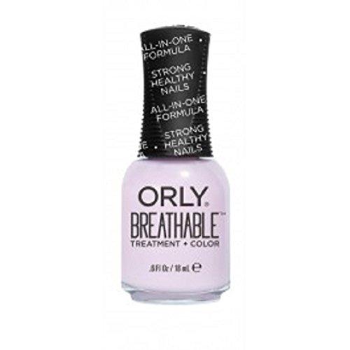 Orly traspirante Nail Lacquer-Trattamento + Colore-Pamper Me-17G/18Ml