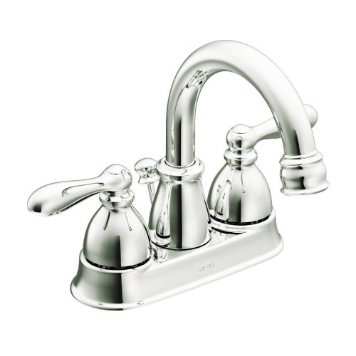 Moen Caldwell Chrome 2-Handle WaterSense Bathroom Faucet (Drain Included) CA84667
