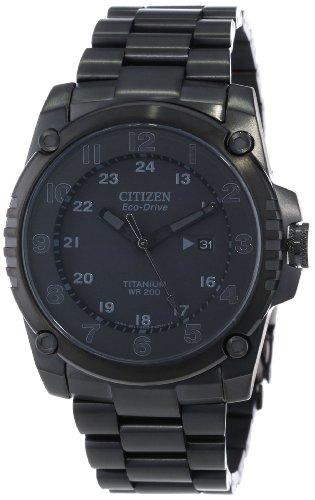 Citizen Men's BJ8075-58E Eco-Drive STX43 Shock Proof Titanium Watch