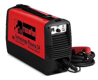 Schnitt-Plasma-Technology-54-konpressor-Inverter-230-V-Telwin-815088