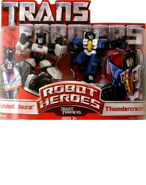 Transformers: Robot Heroes > Autobot Jazz & Thundercracker