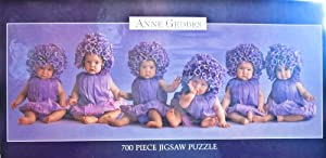 Anne Geddes 700 Piece Jigsaw Puzzle Babies as Flowers by Ceaco