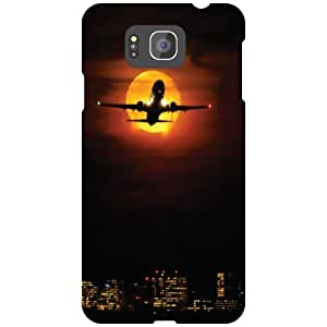 Samsung Galaxy Alpha G850 Back Cover - In The Sky Designer Cases