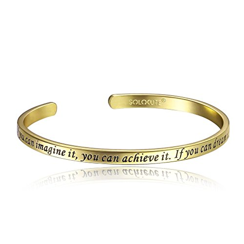 Solocute-Hand-Stamped-Motivational-Pursuit-of-Dream-Bracelet-Jewelry-If-You-Can-Imagine-ItYou-Can-Achieve-ItIf-You-Can-Dream-ItYou-Can-Become-It-Charm-Bracelet