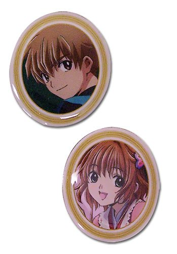Tsubasa Movie Syaoran and Sakura Pin Set