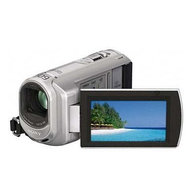 Sony DCR-SX40 Palm-Sized camcorder with 60X Optical Zoom (Silver)