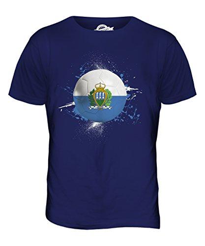 candymix-san-marino-fussball-herren-t-shirt-grosse-x-large-farbe-navy-blau