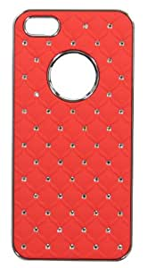 KolorEdge Starry Diamond Case for Apple iPhone 5S-red