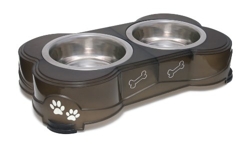 Loving Pets Dolce Diner Dog Bowl, Medium, 1 Quart,