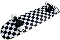 PRO Skateboard Complete Pre-Built CHECKER PATTERN 7.75""