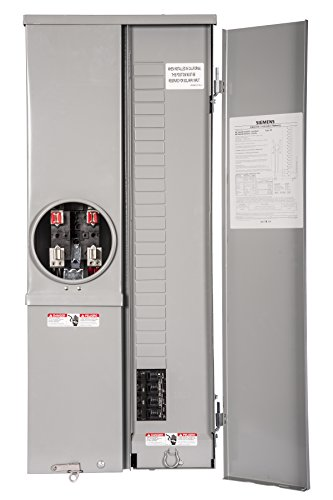 Siemens Mc2442b1200esv Meter Load Center Combination 24