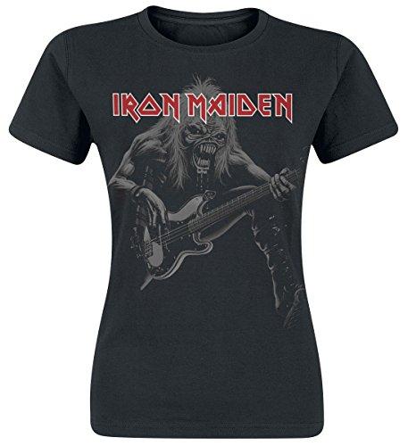 Iron Maiden Eddie Bass Maglia donna nero M