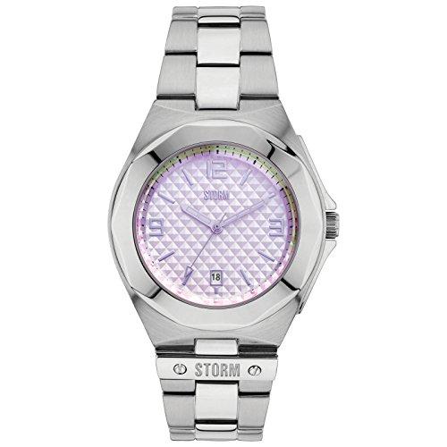 STORM Tizo da donna orologio argento/viola 47252/ghiaccio