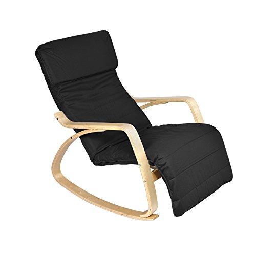 mari home schaukelstuhl melton bequem mit armlehne. Black Bedroom Furniture Sets. Home Design Ideas