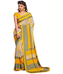 Pushkar Sarees Crepe Saree (Pushkar Sarees_13_Multi-Coloured)
