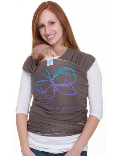 Moby Wrap Limited Edition Designs (Born Free Slate) front-497246