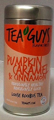 Pumpkin Caramel And Cinnamon Loose Rooibos Tea-4.5 Oz Tin