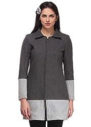 Grey Contrast Overcoat