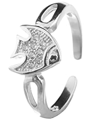 Jewels Cart Sterling Silver Toe Ring For Women - B018QT6G4K