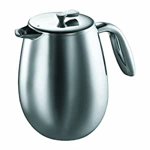 Bodum Columbia Thermal 51-Ounce Stainless-Steel Coffee Press