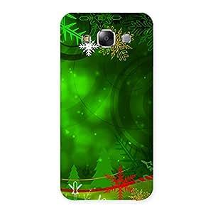Chrismas Decor Back Case Cover for Samsung Galaxy E5