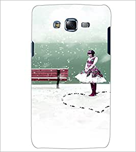 PrintDhaba Cute Girl D-4435 Back Case Cover for SAMSUNG GALAXY ON 5 (Multi-Coloured)