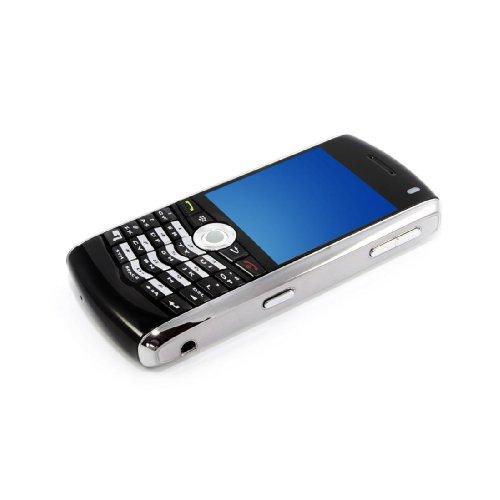 Imagen de BlackBerry Pearl 8100 Unlocked Phone con quad-band GSM, GPRS, EDGE, una cámara MP, Cámara de vídeo y Bluetooth v2.0 - Versión Internacional sin garantía (Negro con plata)