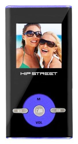 Hip Street 2 GB MP3 Video Player (Blue)