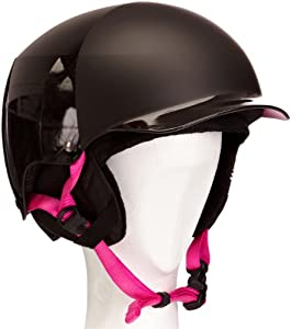 Bern Women's Muse Everything Hatstyle Helmet - Black, Large