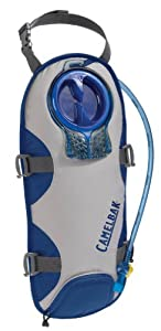 Camelbak UnBottle 100 oz Hydration Pack, Frost Grey/Turkish Sea