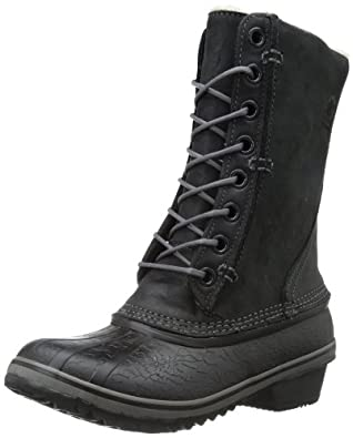 Amazon.com: Sorel Women's Winter Fancy Lace Boot, Black