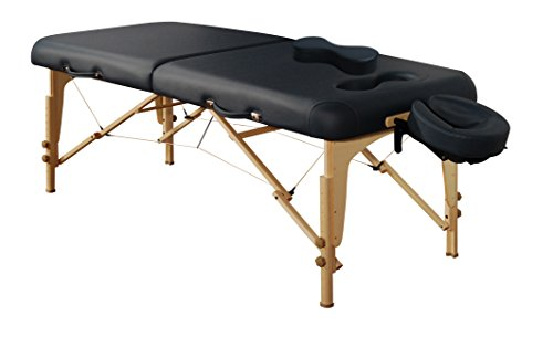 Mt Massage Midas-Girl 30'' Breast Recess Professional Portable Massage Table Package (Agate Blue) (Massage Table Sex compare prices)