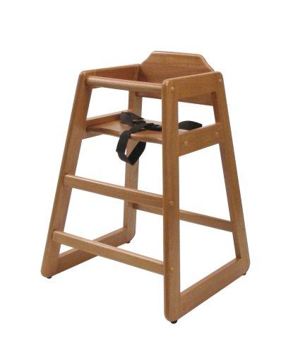 Lipper International 516P High Chair, Pecan