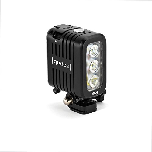 Knog-Qudos-Action-Torcia-LED-per-Action-Cam-Nero