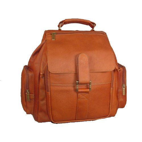 David King & Co. Mid Size Top Handle Backpack, Tan, One Size