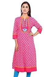 Alobha Beautiful Cotton Anarkali Kurta(AGKI-36,Size-XL)