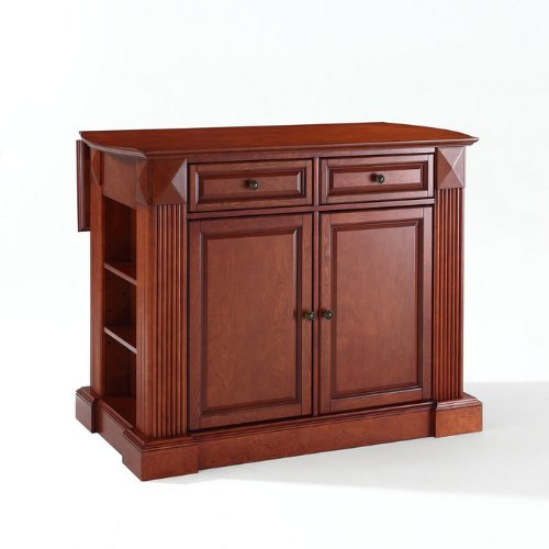 Crosley Furniture Drop Leaf Breakfast Bar Top Kitchen Island at Sears.com