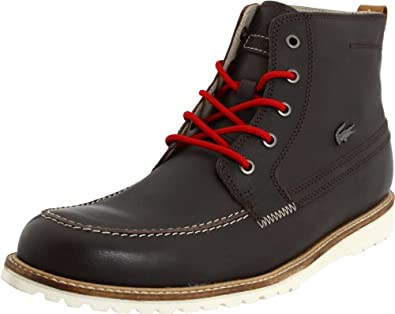 Lacoste Men's Marceau Boot,Dark Brown,11.5 M US