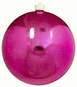 Amazon.com: Christmas By Krebs Round Shiny Shatterproof Ornaments