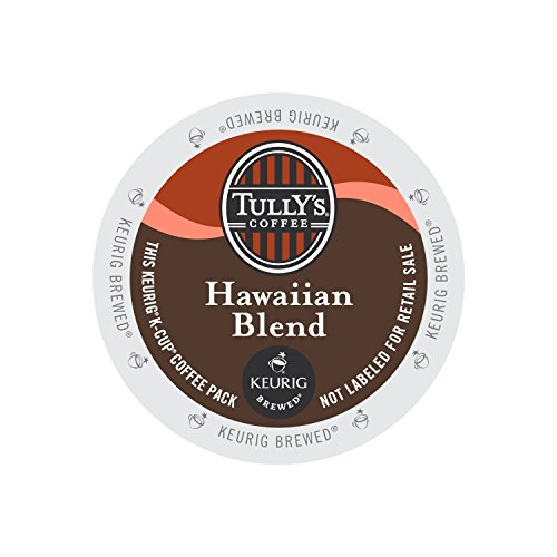 Tully's Coffee Hawaiian Blend 24 K-Cups (pack of 3) (Keurig Hawaiian compare prices)