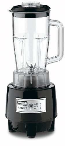 Waring Commercial Hgb146 1/2-Gallon Food Blender With 48-Ounce Copolyester Container