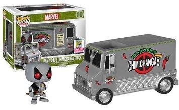 Funko POP SDCC exclusive Deadpools Chimichanga truck
