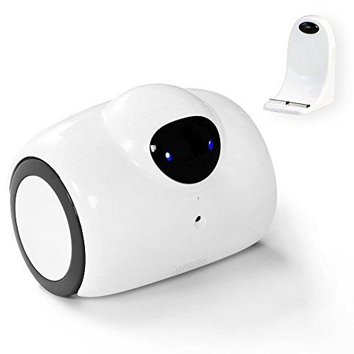 【3R社製】 ネットワークカメラ 搭載 ロボット Bayper IPカメラ スマホ iPhone 遠隔操作ロボット 静止画 動画 撮影 マイク スピーカー 搭載 自動充電