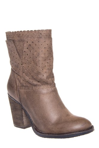 Steven Kobrra Chunky High Heel Pull On Bootie