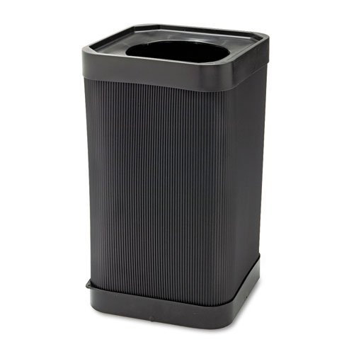 At-Your Disposal Top-Open Waste Square Receptacle front-854936