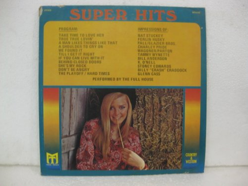 Country & Weatern Super Hits Performed By The Full House front-306550