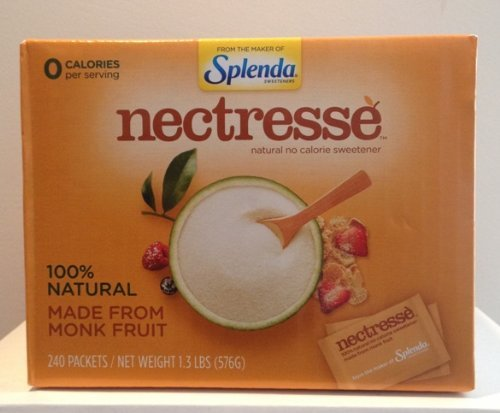 Nectresse Sweetener 240 packets - 1.3lbs(576g)
