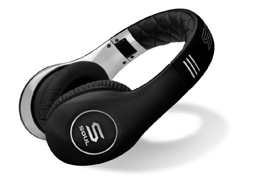 SOUL by Ludacris Headphones (Black/Chrome)