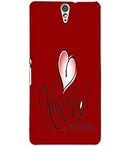 SONY XPERIA C5 HEART Back Cover by PRINTSWAG